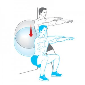 Gymbal oefeningen voor de rug